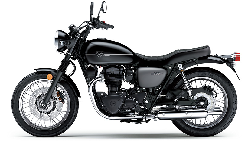 W800 Street : Metallic Flat Spark Black / Metallic Matte Graphite Gray