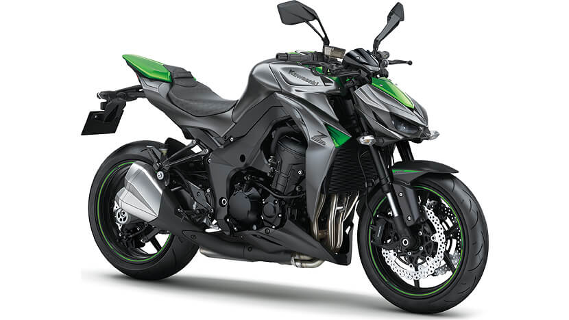 Z1000 : METALLIC MATTE GRAPHITE GRAY / GOLDEN BLAZED GREEN