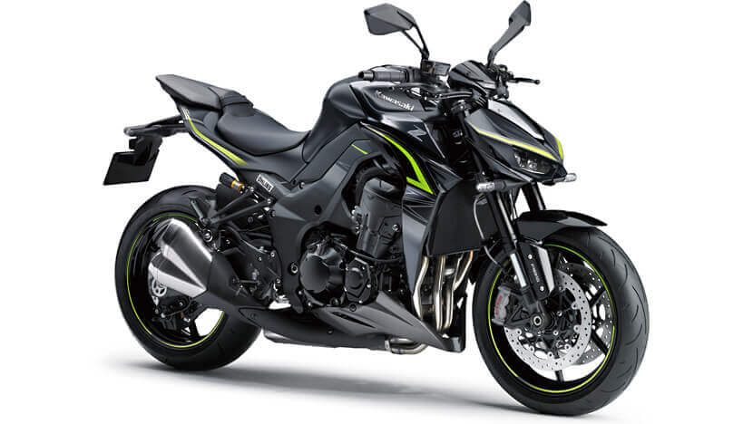 Z1000R : METALLIC MATTE CARBON GRAY / METALLIC SPARK BLACK