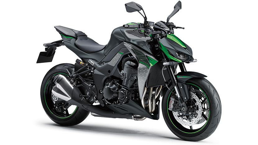 Z1000R : Metallic Spark Black / Pearl Storm Gray / Emerald Blazing Green