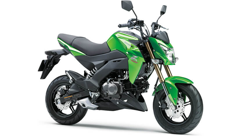 Z125 PRO : CANDY LIME GREEN (2017)
