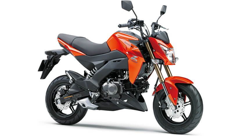 Z125 PRO : CANDY BURNT ORANGE