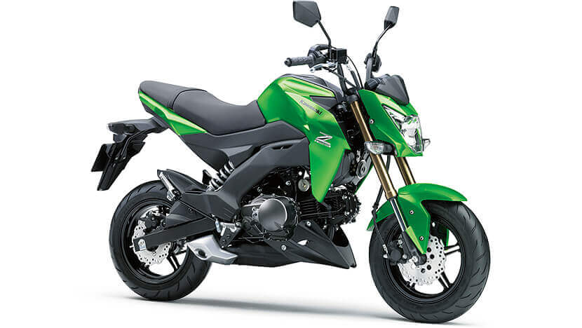 Z125 : CANDY FLAT BLAZED GREEN