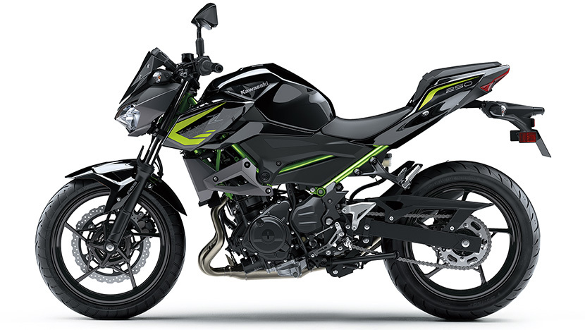 Z250 : Metallic Matte Graphite Gray / Metallic Spark Black
