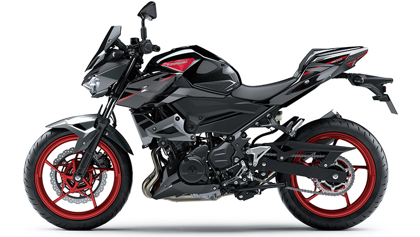 Z400 : Metallic Graphite Gray / Metallic Spark Black (SE)
