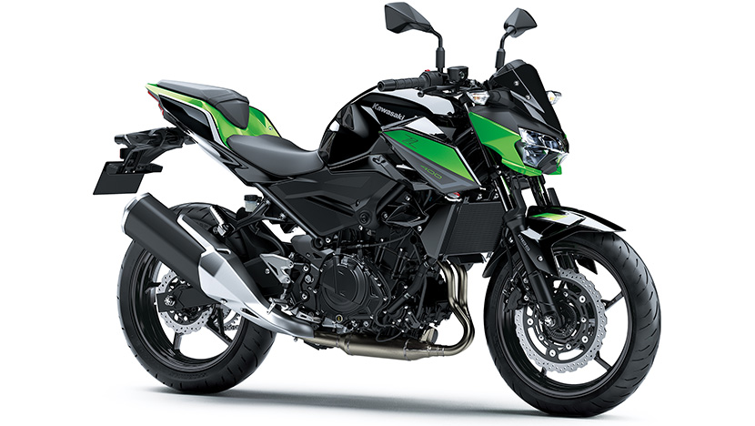 Z400 : CANDY LIME GREEN/METALLIC SPARK BLACK (2022)