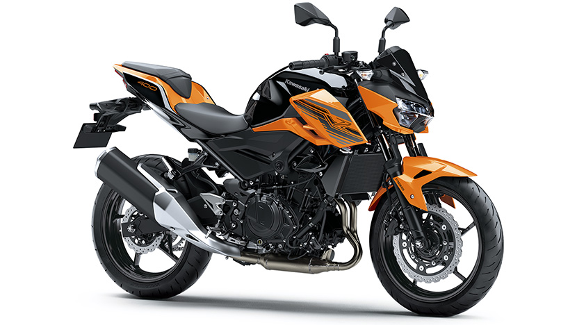 Z400 : Candy Steel Furnace Orange / Metallic Spark Black