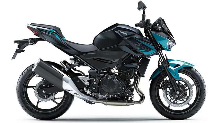 Z400 : Pearl Nightshade Teal / Metallic Flat Spark Black (2021)