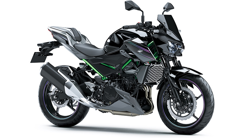 Z400 : Metallic Spark Black / Metallic Flat Spark Black (SE) (2022)