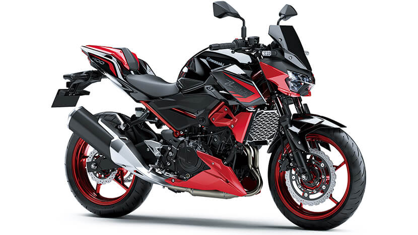 Z400 : Metallic Spark Black / Candy Cardinal Red (SE) (2021)