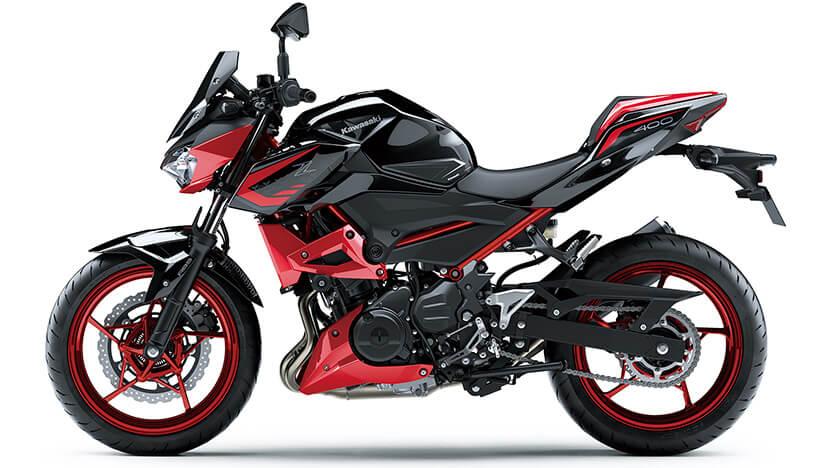Z400 : Metallic Spark Black / Candy Cardinal Red (SE) (2021)