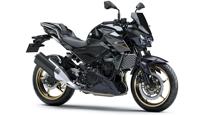 Z400 : Metallic Spark Black (SE)