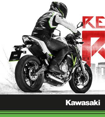 Kawasaki Z650 ความลงตัวของเครื่องยนต์ 2 สูบ ขนาด  649 ซีซี