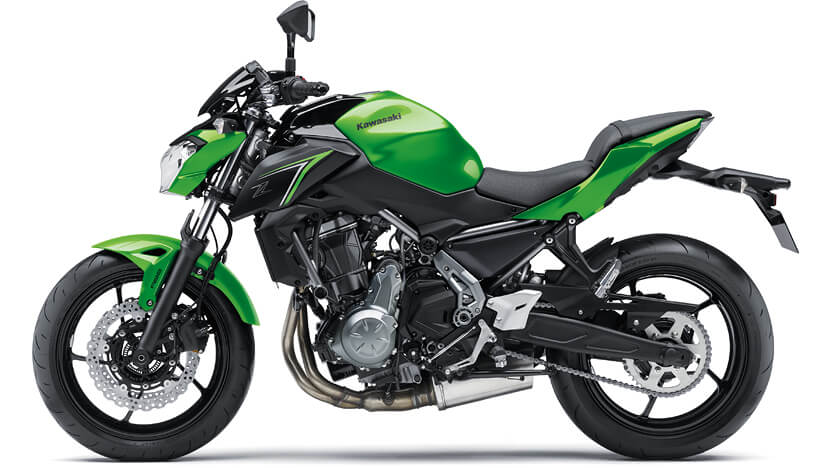 Z650 CANDY LIME GREEN METALLIC SPARK BLACK