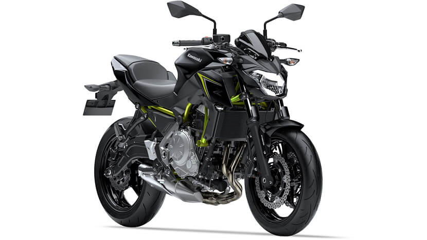 Z650 : METALLIC SPARK BLACK