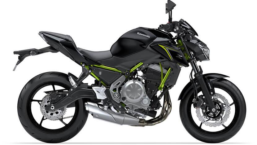 Z650 : METALLIC SPARK BLACK