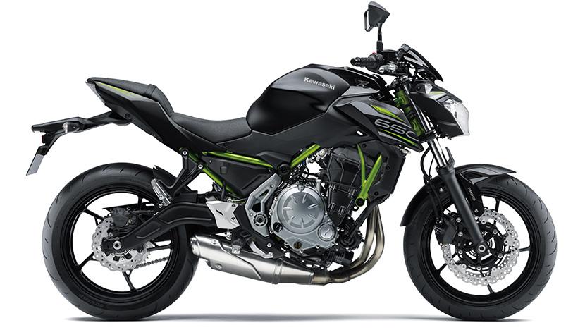 Z650 : Metallic Flat Spark Black / Metallic Spark Black