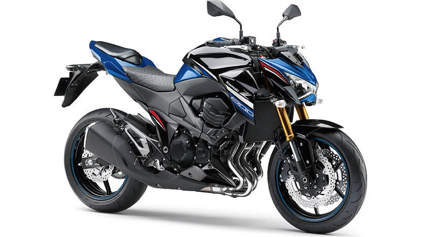 Z800 : METALLIC SPARK BLACK / BLUE