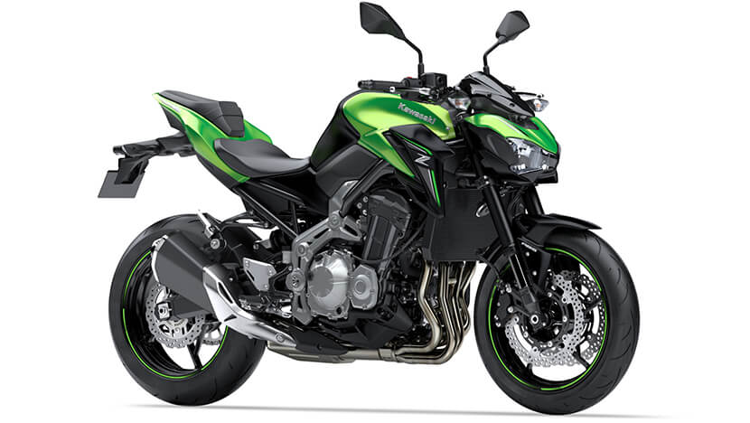 Z900 New : Candy Lime Green / Metallic Flat Spark Black