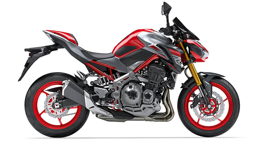 Z900 New : Candy Persimmon Red / Metallic Spark Black (SPECIAL EDITION)