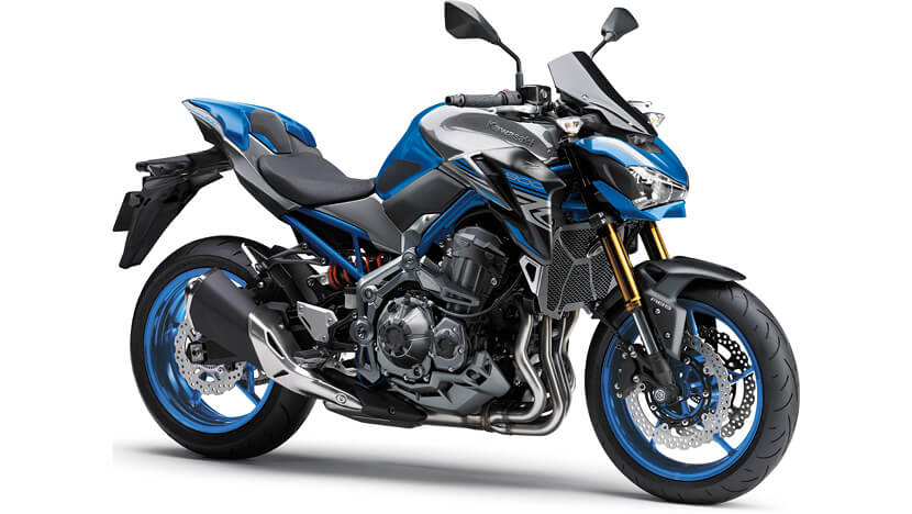 Z900 New : CANDY PLASMA BLUE / METALLIC GRAPHITE GRAY