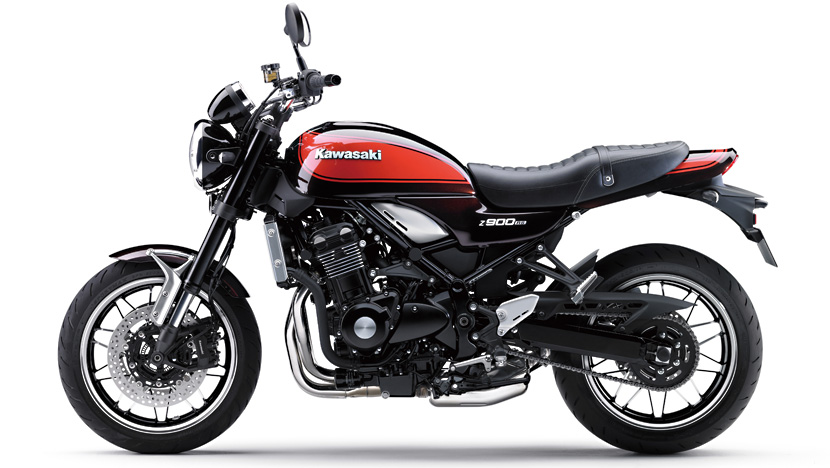 Z900 RS : Candytone Brown / Candytone Orange